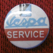Vespa Service Badge